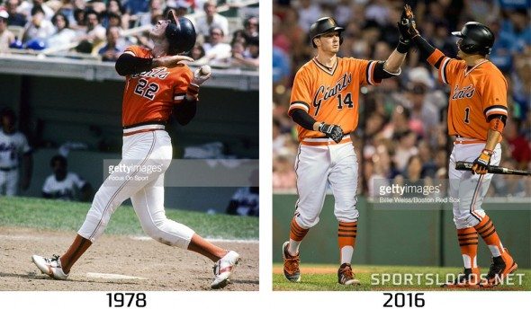 San Francisco Giants 1978 vs 2016 Compare