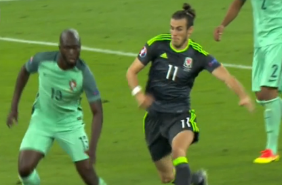 Wales and Portugal both wear clash kits for Euro 2016 semifinal