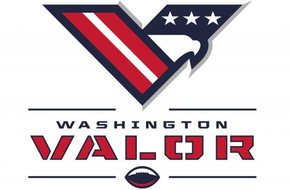 "Washington AFL expansion team unveils nickname as ""Valor"""
