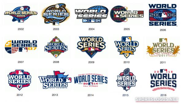 World Series Logos 2002-2016