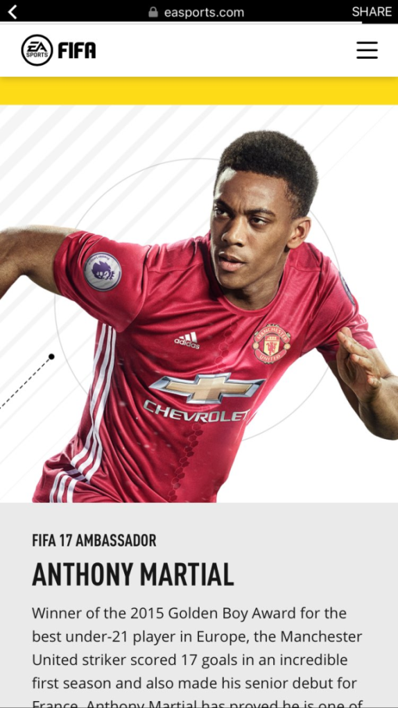 6c9f3312ade Manchester United has their 2016 kit leaked via FIFA 17
