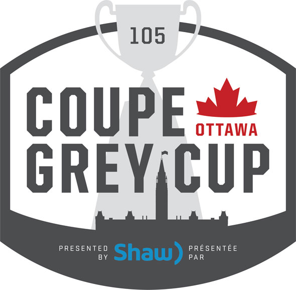 2017 Grey Cup Logo Ottawa CFL Large