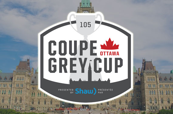 CFL Unveils Logo for Grey Cup 105, hosted by Ottawa in 2017