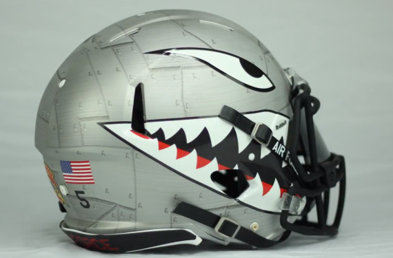 Air Force football will wear historically awesome alternate helmets