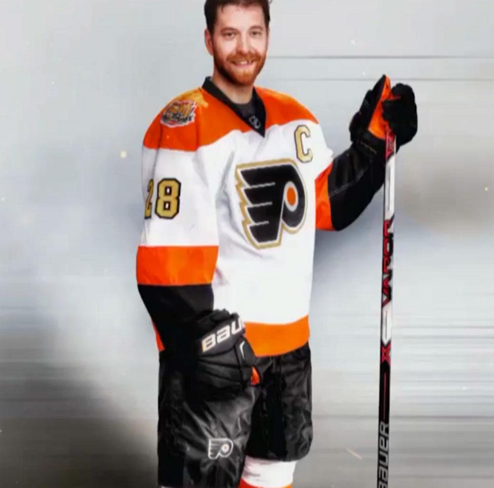 Philadelphia Flyers Unveil Golden 50th Season Jersey