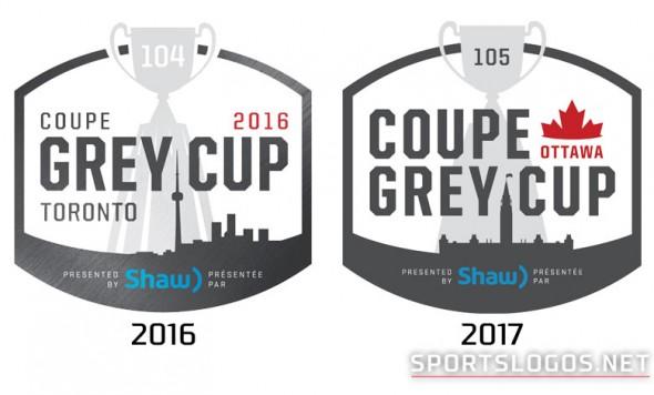 Grey Cup Logos Compare