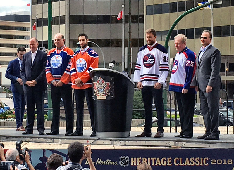 Hawerchuk ready to lead Jets alumni against former Oilers at Heritage Classic