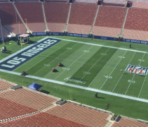 Los Angeles Rams endzone f