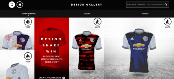 Manchester united jersey creation 2