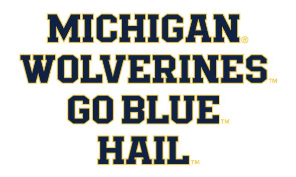 Michigan Jumpman font 1