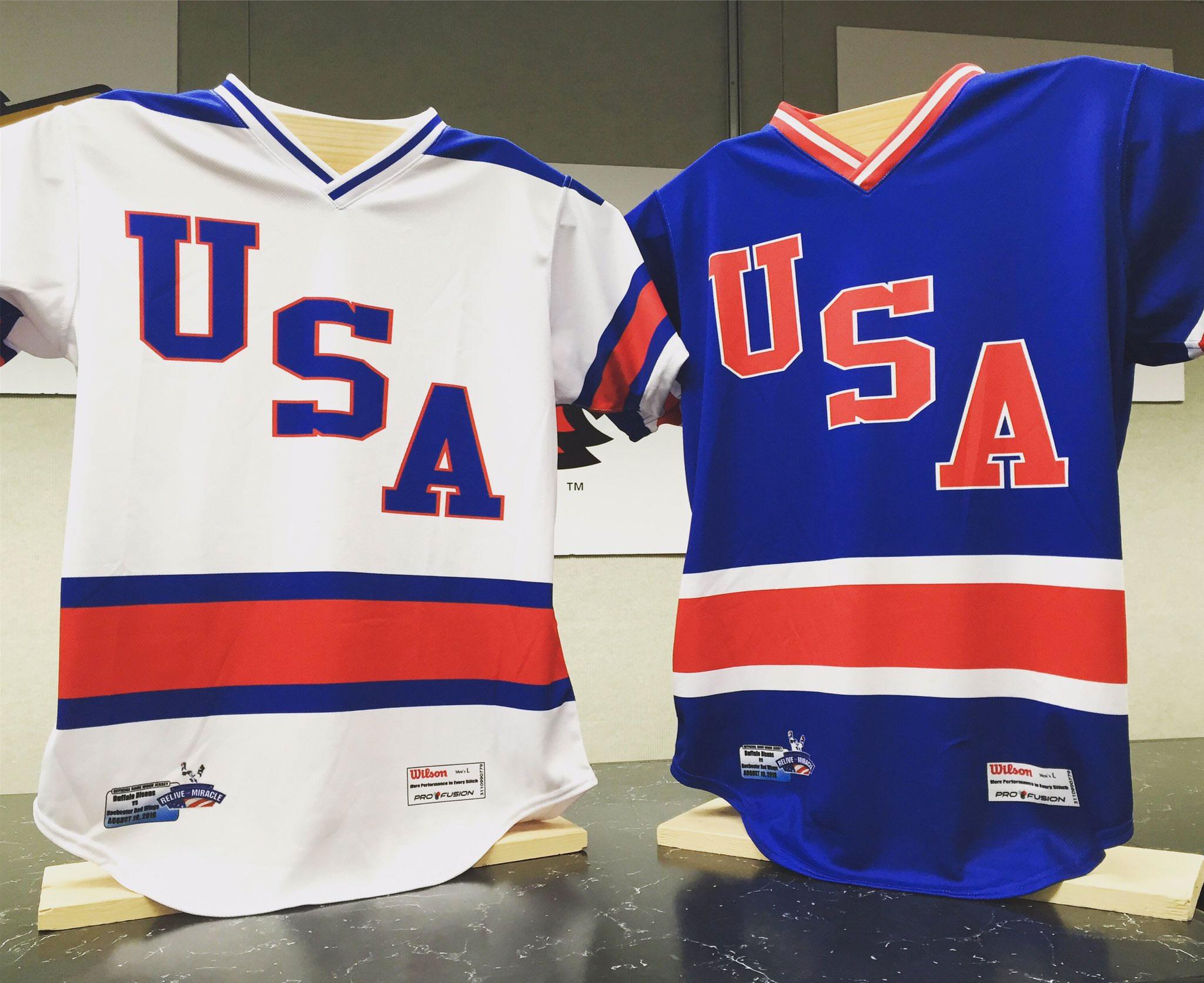 USA! USA! Baseball Team Wears Miracle on Ice Jerseys