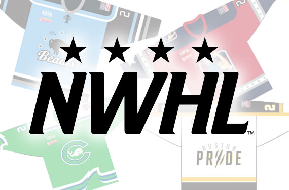 NWHL Scraps All Team Jerseys, Launch Fan Vote for New Uniforms