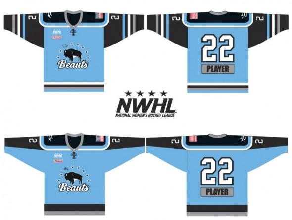 Buffalo Beauts New Uniform Options