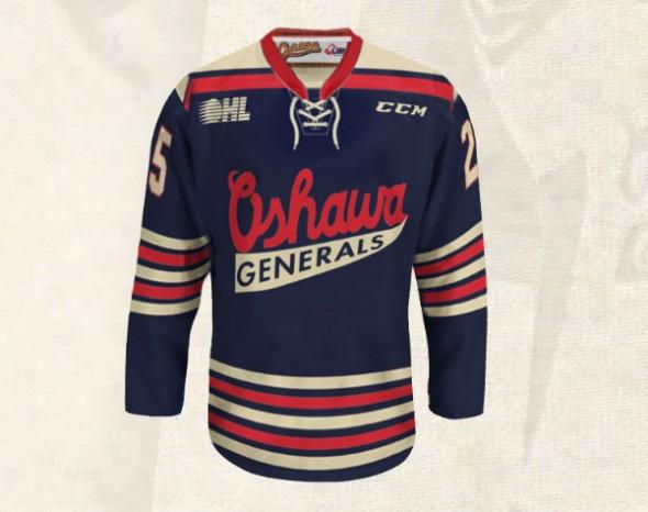 Oshawa Generals Jersey
