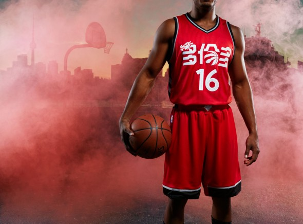 Raptors Chinese Uniform