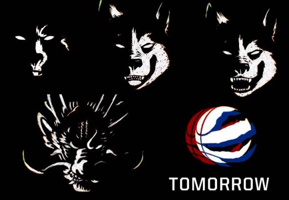 Raptors Huskies screencaps