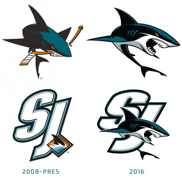 San Jose Sharks Introduce Three New Logos  9cde12692