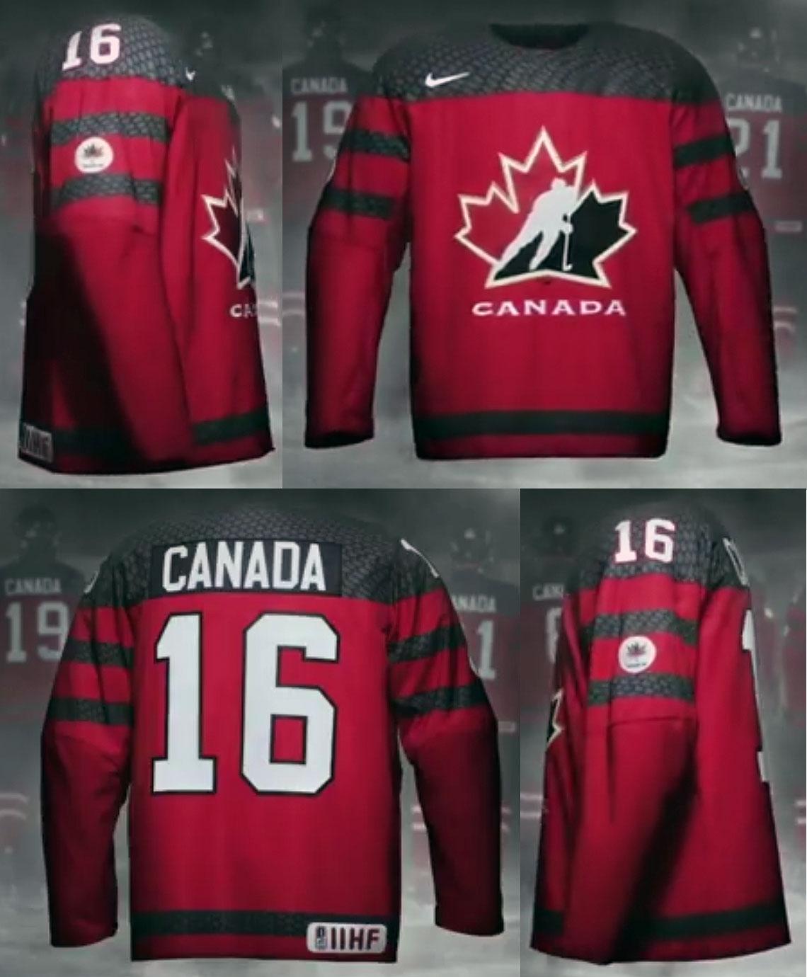 Team Canada Unveils Their Newest Hockey Uniforms