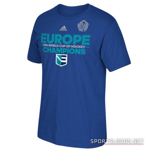 Europe World Cup Champions Hockey 2016 Shirt 2