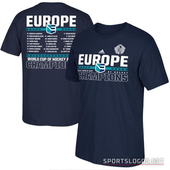 Europe World Cup Champions Hockey 2016 Shirt