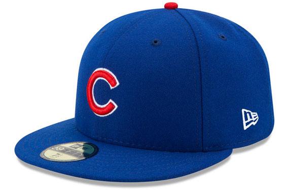 MLB New Era Flag on Cap Cubs