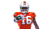 Miami Hurricanes throwbacks f