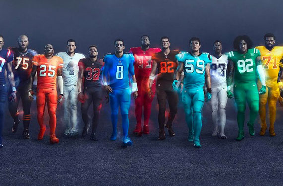 71b6474d6 All 32 NFL Teams unveil new 2016 Color Rush uniforms