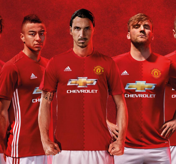 1. Manchester United and Chevrolet - £53 million a year! ($US) through 2021.