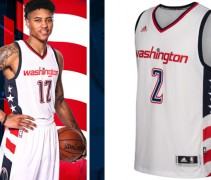 Wizards new uniform