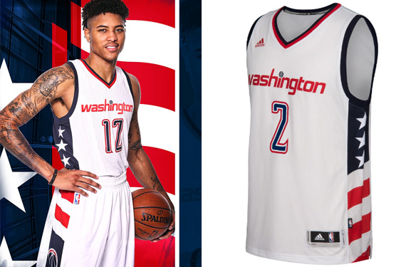 Wizards Go Patriotic With New Uniform