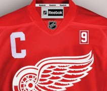 gordie howe memorial patch detroit red wings