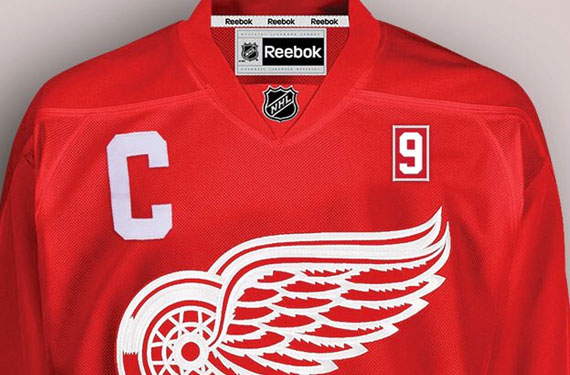 Red Wings Announce Gordie Howe Memorial Patch
