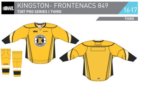 kington frontenacs third jersey