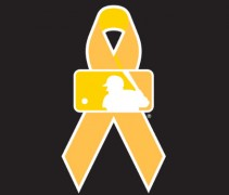mlb gold ribbon