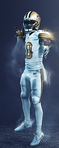 saints color rush jersey 2016