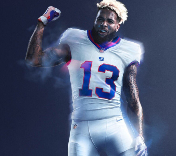 finest selection aecc2 c3d4e New York Giants will wear white Color Rush uniforms for Week ...