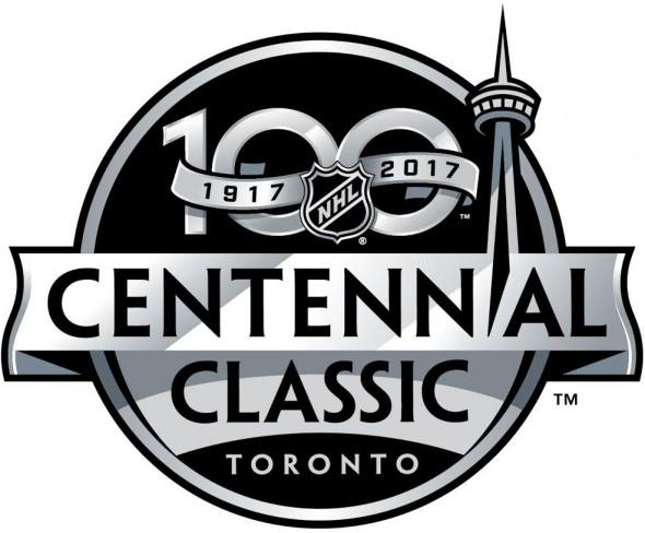 nhl 2017 centennial classic toronto logo