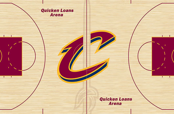Cleveland Cavaliers will play on new court design in 2016-17