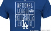 Dodgers NL Champs shirt