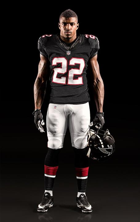 color rush falcons jersey