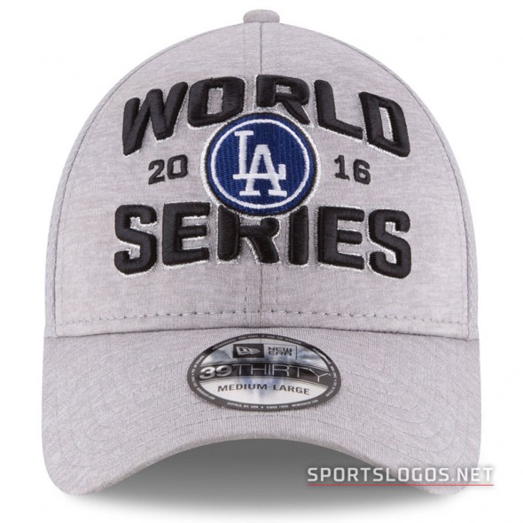 LA Dodgers 2016 NL Champs Locker Room Cap