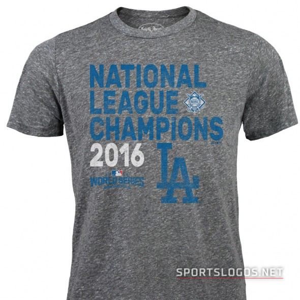 LA Dodgers 2016 NL Champs Shirt 2