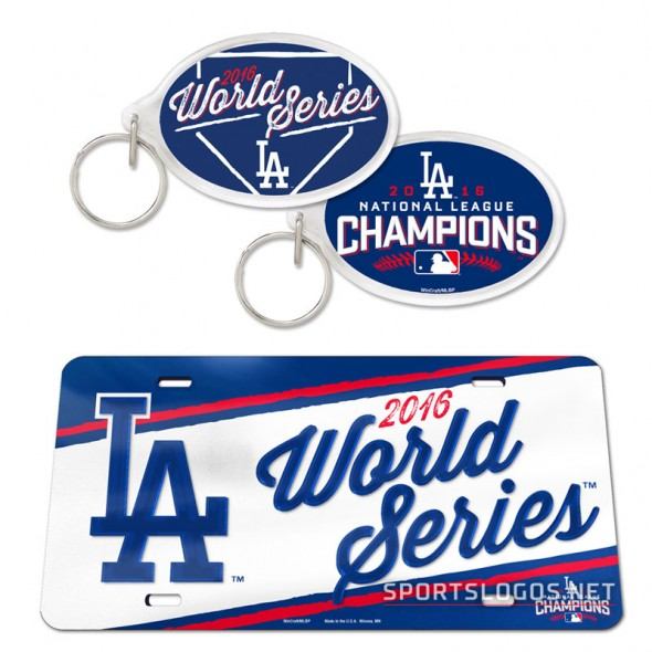 LA Dodgers 2016 World Series Misc