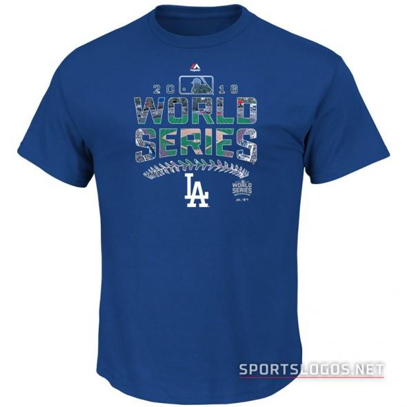 LA Dodgers 2016 World Series T-Shirt