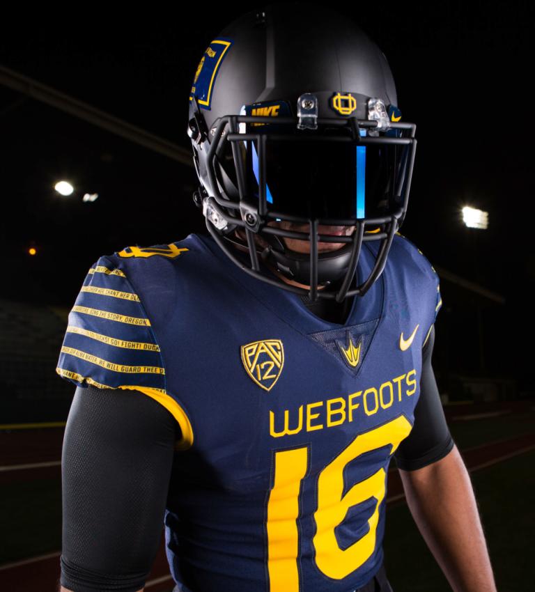 pretty nice ec145 eadb8 Oregon Ducks reveal throwback-inspired Webfoot uniforms ...