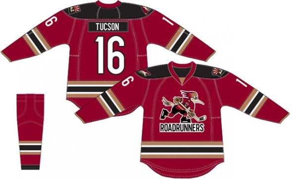 Roadrunners dark jersey