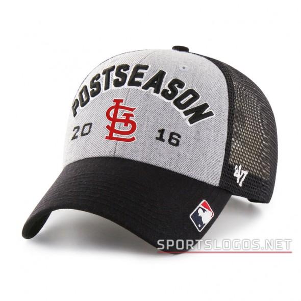 St Louis Cardinals 2016 Postseason Cap Locker Room