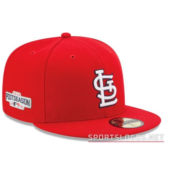 St Louis Cardinals 2016 Postseason Cap On Field