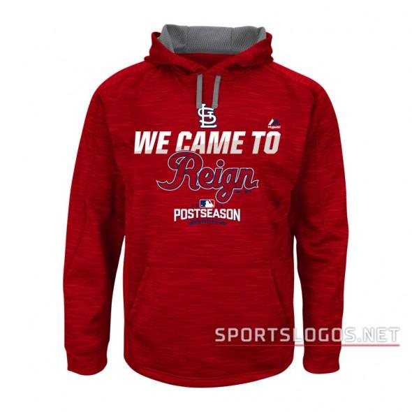 St Louis Cardinals 2016 Postseason Dugout Hoodie