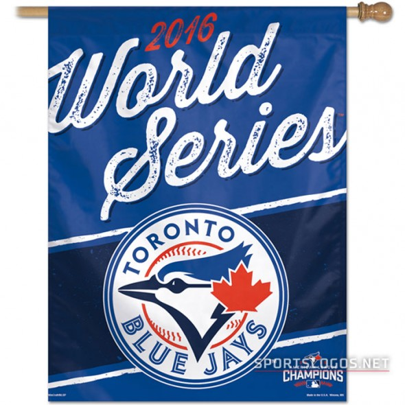 Toronto Blue Jays 2016 AL Champs Flag